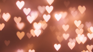 Heart in Bokeh Decorative 4K Wallpaper