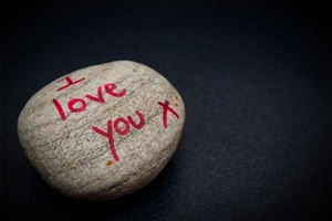 I Love You Write in Stone Wallpapers