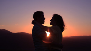 Sunset Photography By Couple 5K Photos