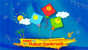 Happy Makar Sankranti Festival Photo