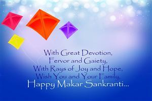 Happy Makar Sankranti Greetings Wallpaper