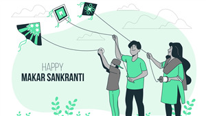 Indian Festival Makar Sankranti Wallpaper