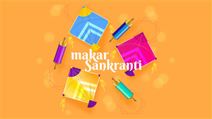 Makar Sankranti 4K Photo