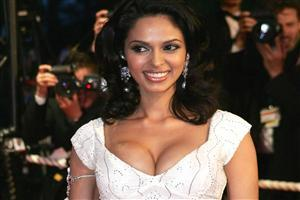Mallika Sherawat with Cute Smile