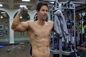 Six Pack Body of Mark Wahlberg