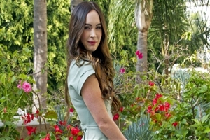 Megan Fox in Garden