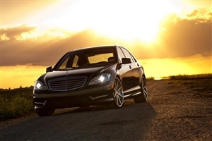 Amazing Best Mercedes S550 AMG on Road Image