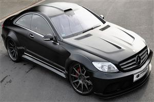 Black Mercedes CL Class Edition HD Car Wallpapers