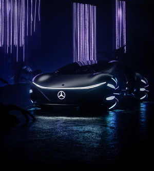 Mercedes Benz VISION AVTR Car