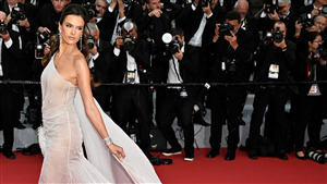 Alessandra Ambrosio Brazilian Model in Cannes 2019 Celebrities HD Wallpaper