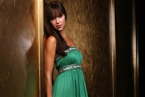 Arielle Kebbel American Model Wallpaper