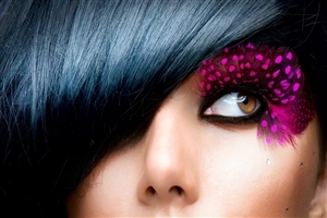 Beautiful Decorative Eye of Girl HD Image