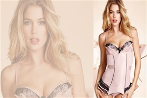 Beautiful Doutzen Kroes Dutch Model Wallpaper