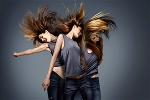 Dancing Girls With Beautiful Hair Style HD Wallpapers