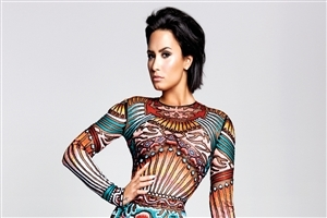 Demi Lovato Famous Singer HD Wallpaper
