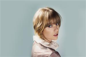 Nice Hair Style of Taylor Swift Wallpaper