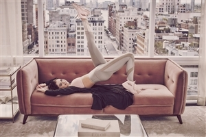 Selena Gomez on Sofa Wallpapers