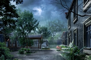 Amazing Fanracy Rainy Monsoon Season Wallpaper