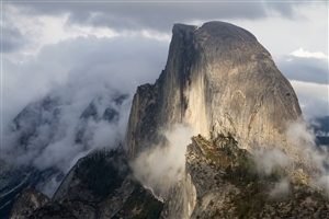 Half Dome Granite Dome in California HD Wallpaper