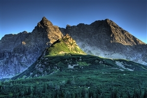 High Mountain in America Photo