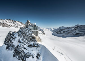 Jungfraujoch Elegant Saddle in Switzerland HD Wallpapers