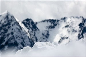 Snowy Mountain HD Photo