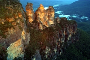 Three Sisters Mountains of New South Wales Tourist Places Australia HD Photo