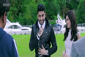 Nargis Fakhri and Abhishek Bachchan in Housefull 3 Movie HD Wallpapers