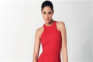 Nargis Fakhri in Red Top Photo