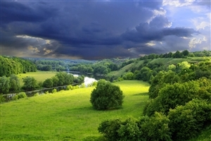 Beautiful Amazing Green Nature Landscape Image Download
