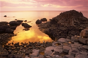 Beautiful Giants Causeway Nature Photo of Antrim Northern Ireland