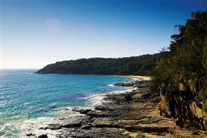 Beautiful Nature Look of Noosa National Park in Queensland Australia Wallpaper