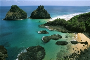 Fernando de Noronha in Brazil Travel Photography Wallpaper