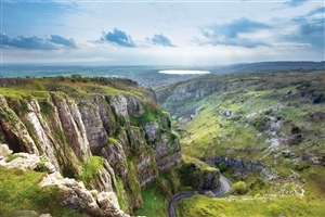 Goughs Cave in Cheddar Gorge on the Mendip Hills England HD Tourist Places Photo