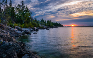 Isle Royale National Park in Michigan Wallpaper