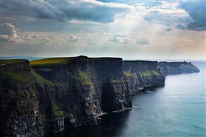 Nature Cliffs of Moher in Ireland Wallpaper
