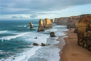 The Twelve Apostles Stack in Victoria Australia Tourist Place Wallpaper