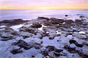 Tide Pools Nature Sea Wallpaper