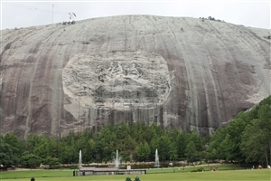 Tourist Place Stone Mountain Park in Georgia State of US HD Wallpaper