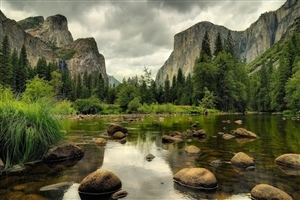 Yosemite National Park in California US Tourist Place HD Wallpaper