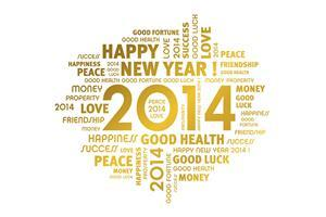 2014 Happy New Year Greetings Wallpapers