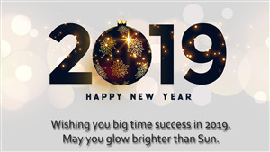 85 download 141 views 2019 happy new year greeting message 4k wallpaper