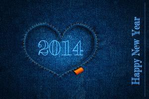 Free HD 2014 New Year Wallpapers