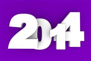 Happy New Year 2014 Holidays Wallpaper