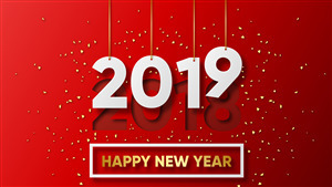 New Year 2019 Holiday HD Wallpapers