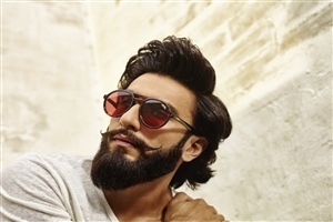 Actor Ranveer Singh in Sunglasses Photo