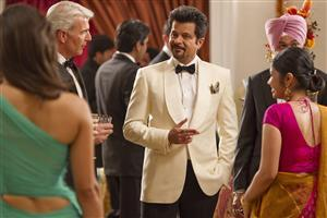 Anil Kapoor in Party with White Suit