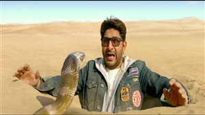 Arshad Warsi Again Snakes Funny Photo in 2019 Film Total Dhamaal
