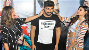 Ileana DCruz Fun with Arjun Kapoor