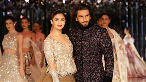 Indian Culute Celebtrate Ranveer Singh with Alia Bhatt